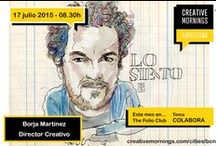CreativeMornings / Free talks for the creative community + coffee #creativemornings #cmbcn https://creativemornings.com/cities/bcn