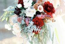 Wedding Florals / bridal bouquets, wedding floral ideas for brides, big bouquet ideas, pretty bouquets with colorful flowers. wedding floral ideas