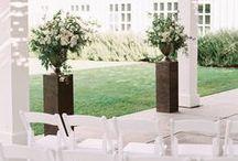 Wedding Ceremony Ideas / Ceremony ideas, big floral setup during ceremony, wedding ceremony, florals during the ceremony. Wedding day