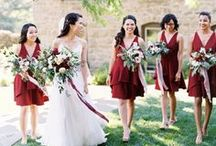 Bridesmaid Style / bridal party style, bridesmaids style ideas, what to have your bridesmaid wear for your wedding day. Idea's and colors for bridesmaid dresses