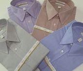 Men's Dress Shirts / Roundtree Gold Label and Hart Schaffner Marx Non-Iron Dress Shirts