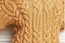 Tricô e crochê /costuras