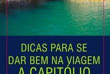 """Capitólio - MG / Capitólio é um dos destinos mais procurados do momento. É uma das 34 cidades banhadas pelo """"mar de Minas"""", o Lago de Furnas, cheios de paisagens belíssimas e incríveis passeios. Confira como chegar no mirante, quais cachoeiras são gratuitas, quais são pagas, além de como chegar nelas, visto que todas ficam fora da cidade:  http://vidasemparedes.com.br/capitolio-o-que-fazer-onde-comer-onde-ficar/"""