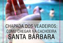 Chapada dos Veadeiros / A Chapada dos Veadeiros, em Goiás, é um destino que compreende 3 cidades - Alto Paraíso, São Jorge e Cavalcante - e tem cachoeiras e trilhas incríveis.