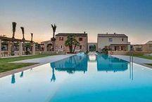 Die schönsten Pools in Ferienhäusern und Hotels / Die schönsten Pools zum Planschen und Baden in Ferienhäusern und Hotels auf Mallorca, Teneriffa, Kanarische Inseln, Italien, Toskana, Ibiza