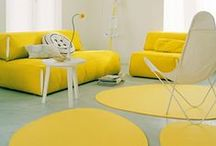 Yellow, grey and black nursery / Fun and edgy