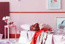 Girls rooms / Girly and swirly