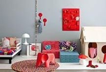 Bold kids rooms
