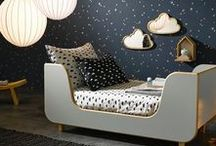 Moody kids rooms / On the darker side and cozy