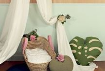 Get Bloomed / wawomb's new Spring Summer tropical nursery decor line