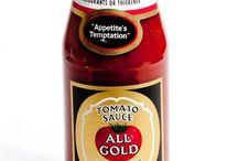 All Gold Tomato Sauce / Restaurant