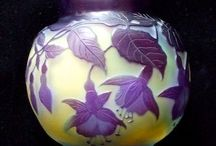 Vasen, Glas, Jugendstil