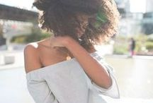 Afros / Natural Afro Hair - Afro Textured Hair - Hairstyles