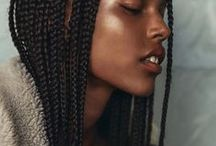 Braids and Cornrows Natural Afro Hair / Braids and cornrows on Natural Afro Textured Hair with or without extensions