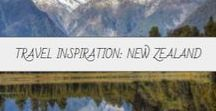Travel Inspiration: New Zealand / Home of Mount Doom and a thousand picturesque meadows and mountains, New Zealand is a land of beauty no matter the weather.