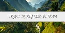 Travel Inspiration: Vietnam / Rolling rice fields, vibrant cities and the iconic Halong Bay make Vietnam all the more enticing!