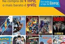 Promoções de HQS, Mangás e Graphic Novels / Promoções, Ofertas e Cupons referente a Hqs, Graphic Novels e Mangás do Site Amazon... Atualizados diariamente.