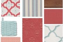 Color Boards / Texture, pattern, and color that inspires! / by Cottage Home, Inc & Distinctive Cottage Blog