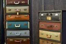 Vintage Suitcases / For all of us who love vintage suitcases