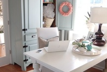 home office ideas / by kimberly claire