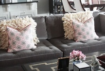 my ♥ of gray / decorating with shades of grey/gray -( depending on where you live☺) / by kimberly claire