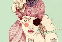 Liz Clements / Liz Clements, illustrator from Londres.