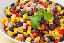 Food: Salads / Since we all need healthy stuff... kinda / by Jessica Christine