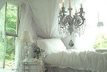 Beyond beds... / I have a slight obsession with big ornate beds.  Since I don't sleep much I could just have a beautiful bed to look at.    / by Michelle Oubre
