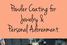 What is Powder Coating? / by Eureka Janet ~ Jewelry featuring Powder Coating