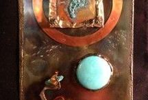 copper wall hangings / by Eureka Janet ~ Jewelry featuring Powder Coating