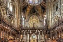 Chrześcijaństwo - świątynie - wnętrza
