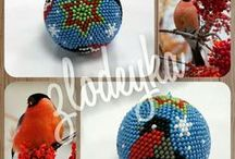 bead crochet balls