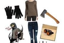 creepypasta cosplays