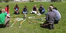 Erlebnispädagogik Bogenbau & Bogenschießen / Das Bogenschießen ist ein alter Menschheitstraum. Seine Wurzeln reichen bis in die Steinzeit und die untersten archaischen Schichten der Menschheit zurück.