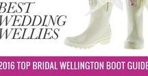 Wedding Wellies - Mostly White Wellingtons for the Brides Big Day / Collection of the best wellies for weddings - bridal wellies, groom wellies - So if  you are looking for a pair of white wellies especially for your wedding day, then check out this board