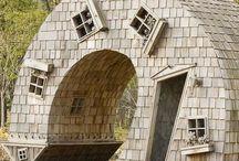 Необычные дома, здания, сооружения