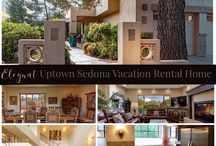 Uptown Elegant Vacation Rental Home / Elegant Uptown Sedona Vacation Rental Home boasts over 2,700 feet of living and entertainment space, featuring views of Snoopy Rock. Beautifully renovated vacation home can comfortably accommodate up to 9 guests in the 3 spacious bedrooms plus sleeping loft. Tall trees surrounding the home give the feeling of seclusion and privacy, while within walking distance to bustling Uptown Sedona and nearby art galleries, boutiques, a variety of restaurants, and of course, sightseeing, hiking and biking. The open concept floor plan makes the living area spacious and enjoyable whether it's a retreat for 2 people, a small group or a family gathering. Entertain at home in our well appointed gourmet kitchen, enjoy the views and Arizona weather in the landscaped backyard, complete with bocce ball court, fire pit, and water feature. For more information and to book this home please visit www.vistaridgesedona.com or call 928-853-5009