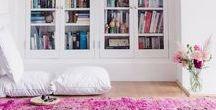 Pink Interior Design / Pink Ideas