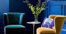 Blue Interior Design / Blue things to decor