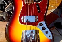Vintage Fender Jazz Bass Guitars / Vintage Fender Jazz Bass Guitars