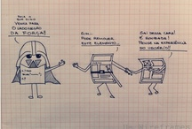 Us, Wireframes / Stories of everyday an information architect with a super fertile imagination.