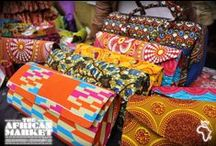The African Market  / African market brings fashion, arts and craft, accessories, jewellery and much more to East London