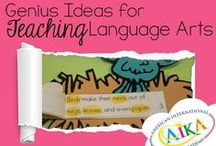LANGUAGE ART&CRAFT IDEAS