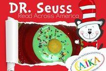 DR. SEUSS READ ACROSS AMERICA / Celebrate all things Seuss and get ready to Read Across America