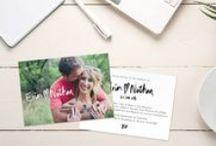 Wedding Invitations / Wedding Stationery; Photo cards, Postcards, Invites / Invitations, etc  Custom design available www.fortheloveofstationery.com / by For the Love of Stationery // Shop Photo Wedding Invitations