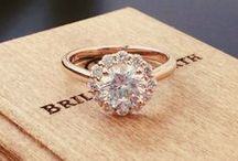 Wedding Rings / Round? Square? Diamond cut? How many karat? How about the band? Thin or thick?