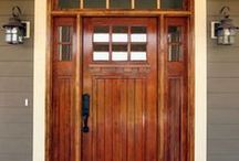 Front Doors / Make the first impression the best impression.