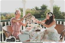 Tea Party / I love a good afternoon tea!