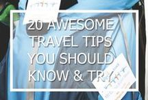 TRAVEL INSPIRATION / Get inspired by ideas, lists and tips