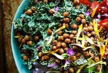 Love My Salads! / The best salad recipes - Clean eating, paleo, whole30, vegan, vegetarian, flexible dieting.